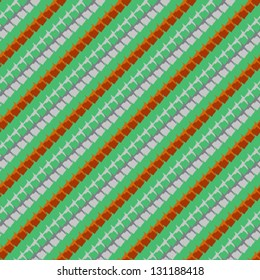 multicolor geometric hipster pattern with diagonal lines, stylization of Mexican native art. Texture for textile, print, wallpaper, website background. Concept of spring summer or fall fashion