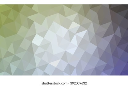 multicolor pink, green polygonal illustration, which consist of triangles. Geometric background in Origami style with gradient. Triangular design for your business.