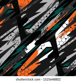 Multi-color Sports textile modern seamless pattern wallpaper background. Vector bright print for fabric or wallpaper. Camouflage Sport. T-shirt and apparels print graphic vector. Urban Camouflage.