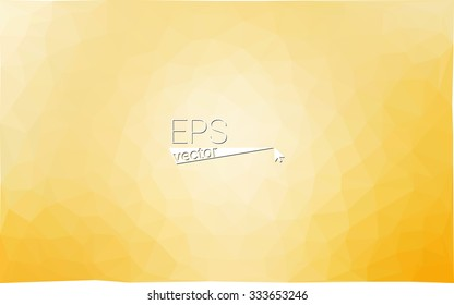 multicolor yellow geometric rumpled triangular low poly style gradient illustration graphic background. Vector polygonal design for your business.