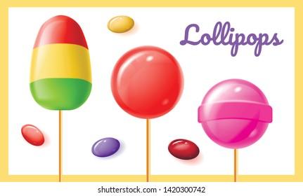 Fruit Lollipops Images, Stock Photos & Vectors | Shutterstock