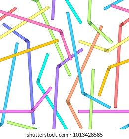 Multicolored straws pattern/Sipper background