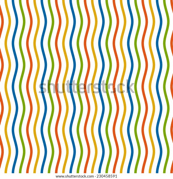 multicolored waves background - endless