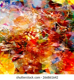 Multicoloured abstract background