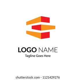Multiconcept Business Logo for property, real estate, apartment, residential, developer, creative studio, industrial, roof, financial, builder, music. illustration flat, modern