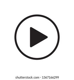 multimedia button icon vector