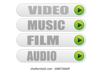 Multimedia content playback buttons.