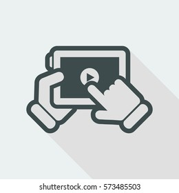 Multimedia player icon