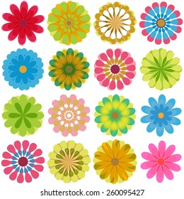 Prizmas different types of colorful flowers set on shutterstock multiple flowers various colors mightylinksfo
