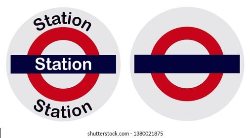 Mumbai Local Train station name bord.