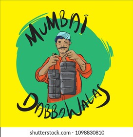 mumbai people illustration vector