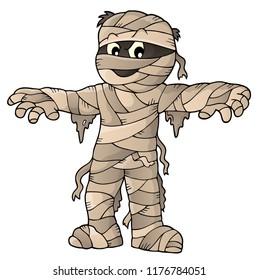 Mummy theme image 1 - eps10 vector illustration.