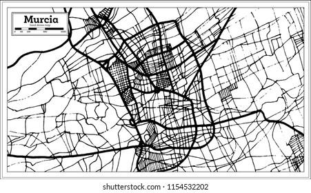 Detroit Michigan USA Street Vector Map Vector de stock (libre de ...