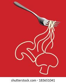 Mushroom Veg Noodles