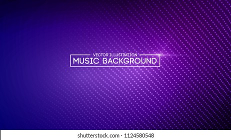 Music abstract background blue. Equalizer for music, showing sound waves with music waves, music background equalizer vector concept. Eps10 vector illustration.