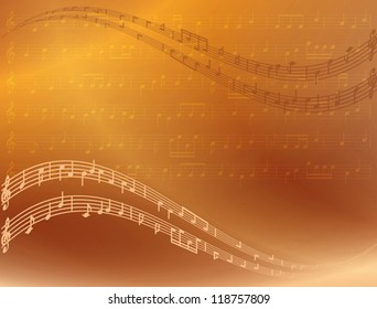 music background - vector