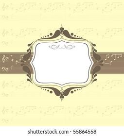 music banner, music note - Bach, Johann Sebastian, Ave Maria