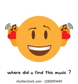 Music Emoji Images, Stock Photos & Vectors | Shutterstock