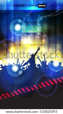 Music Event Background Stock Vektorgrafik Lizenzfrei 110825093