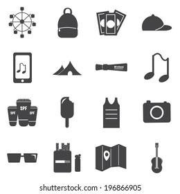 Music Festival icons