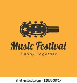 Music festival logo design inspiration