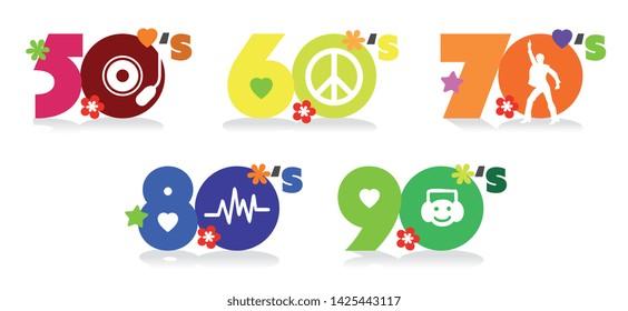 50、60、70、80、90の音楽