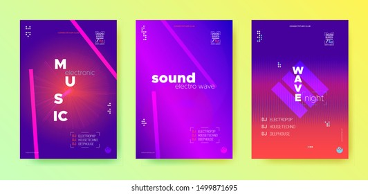 Music Flyer. Light Nightclub Party. Dance Beat. Violet Abstract Wave. Neon Music Round. Design Posters. Dance Beat. Violet Abstract Wave. Music Flyer.