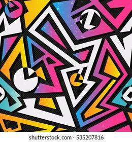Music geometric seamless pattern (vector eps 10)