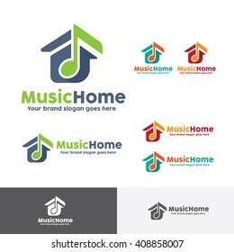 Music House Logo Template