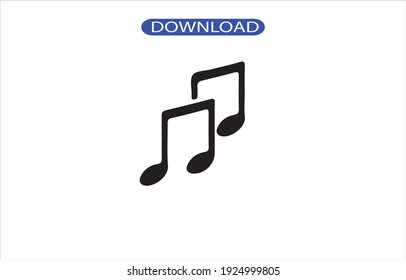 music icon or logo isolated sign symbol vector illustration - high quality black style vector icons.