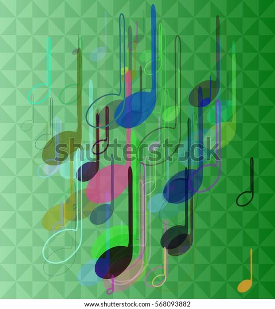 music icon texture