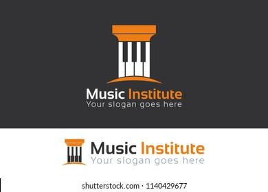 Music Institute Logo Template