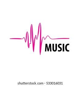 Music logo, vector