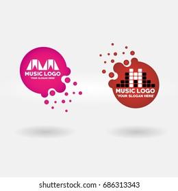 Music Logo, Vector, Illustration, EPS Files