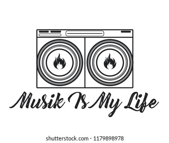 1028 Music Is My Music Is My Life Images Royalty Free Stock