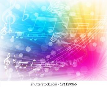 Music note music