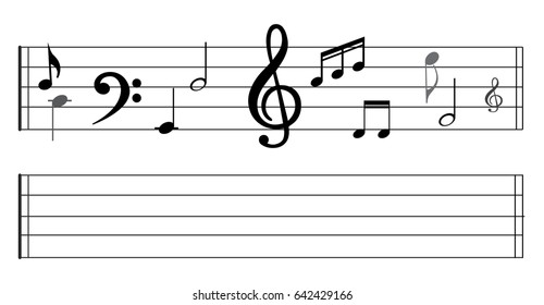 staff music note