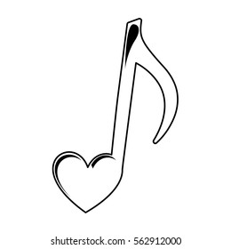 music note heart images stock photos vectors shutterstock