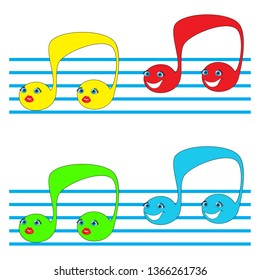 Music note Icon,