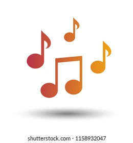 Music note icon - Color