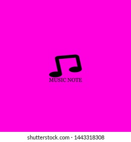 music note icon sign signifier vector