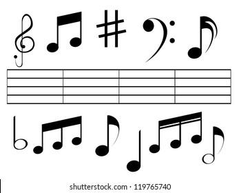 Music Symbol Images, Stock Photos & Vectors | Shutterstock