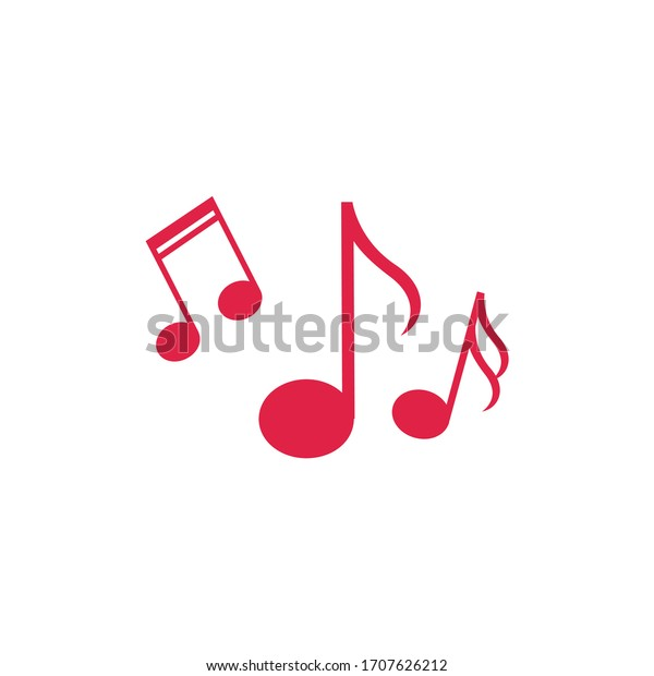 Music notes icons set vector illustration eps 10