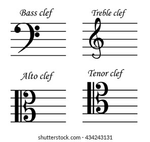 Bass Clef Images, Stock Photos & Vectors | Shutterstock