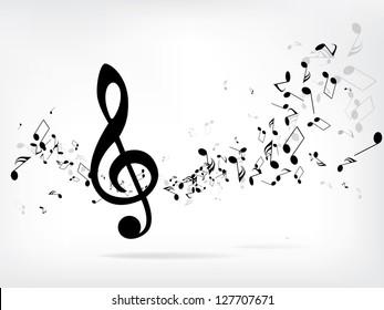 Notas Musicales Imágenes Fotos Y Vectores De Stock Shutterstock