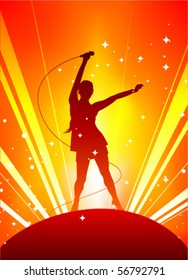 Rock Star Background Hd Stock Images Shutterstock