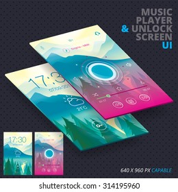 Music Player & Unlock Screen For Iphon, Ipade, Ipode