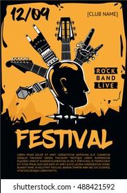 concert flyers template