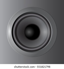 music from speakers.