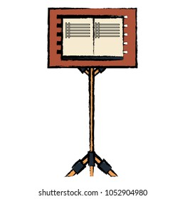music stand for scores